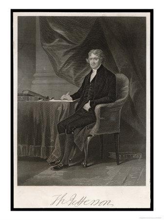 Thomas Jefferson Third President of the United States
