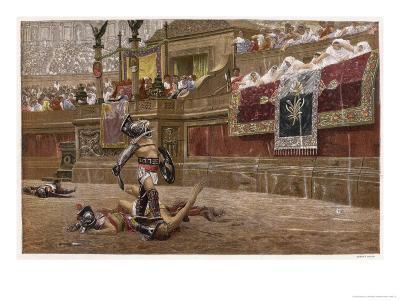 Gladiators in the Arena