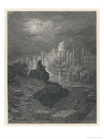 Traveller from New Zealand in Days to Come Contemplates the Ruins of London That Once Great City