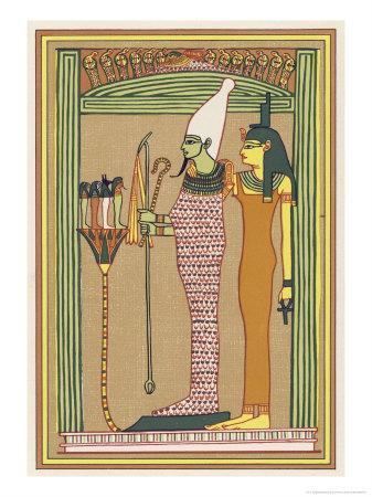 Osiris Isis and the Children of Horus