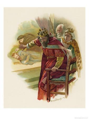 Hamlet, Claudius Disturbed by the Play Scene