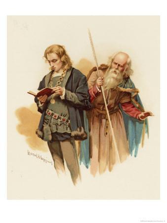 Hamlet with Polonius