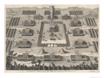 Exodus: The Israelites Encamped About the Tabernacle Erected in the Wilderness