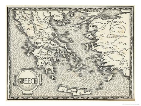 photo relating to Printable Map of Ancient Greece named Map of Historical Greece