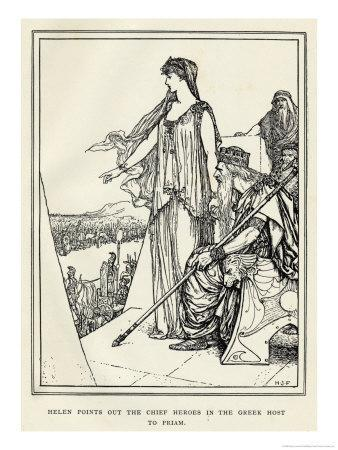 Helen Points out the Chief Heroes in the Greek Host to Priam