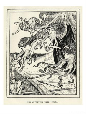 Scylla the Six-Headed Monster