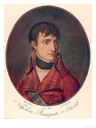 Napoleon I as First Consul 1803