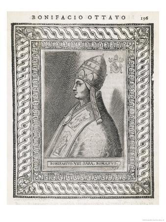 Pope Bonifacius VIII Quarrelled with Philippe IV of France Who Humiliated Him Whereupon He Died