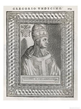Pope Gregorius XI (Pierre Roger) Restored the Papacy to Rome