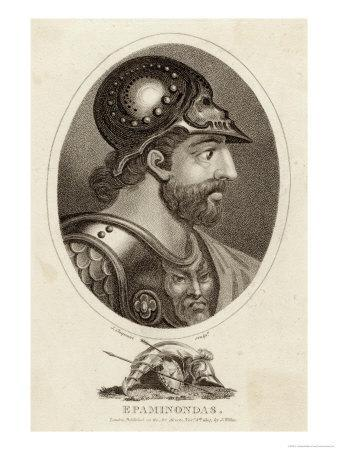 Epaminondas, Greek (Theban) Soldier and Statesman Involved in Conquest of Sparta