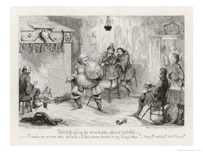 Henry IV, Act II Scene Iv: Falstaff Giving His Account of the Affair at Gadshill
