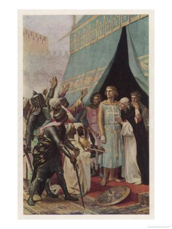 Seventh Crusade Louis Ix King of France Invades the Holy Land But is Taken Prisoner at Mansourah