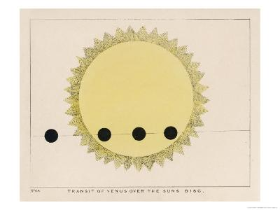 The Transit of Venus Over the Sun's Disc