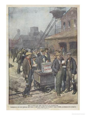 After a Secret Ballot British Miners Decide to Go on Strike