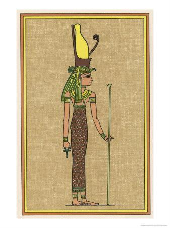 The Supreme Mother-God of Thebes and Consequently the Symbolic Mother the Pharaoh