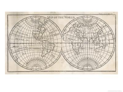 Earth's Globe Still Far from Completely Mapped, Note How North America and Australia Fade Away