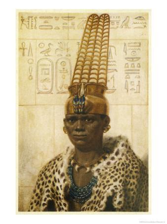 Taharqa Pharaoh (25th Dynasty) Initiated Extensive Building Projects in Both Egypt and Nubia