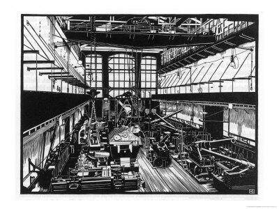Krupp's Factory in Essen: Machine Shop Iv