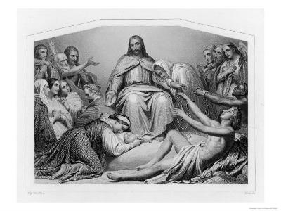 Jesus of Nazareth Depicted as Christ the Consolator