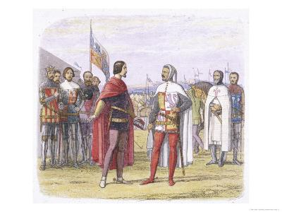 """Edward the Black Prince of Wales Persuades Pedro """"The Cruel"""" of Castile to Grant an Amnesty"""