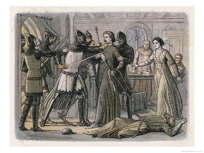 Edward III Seizes His Powerful Rival Roger Mortimer in Nottingham Castle