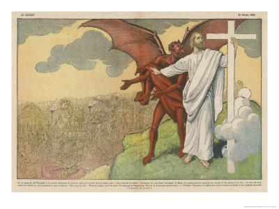 Satan Offers Jesus All Kinds of Nice Things if He Will Only Renounce His Mission: But He Refuses