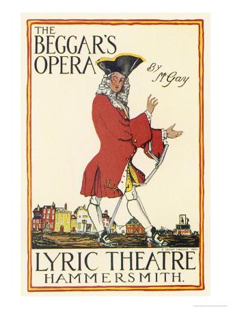 Poster for Production at the Lyric Theatre Hammersmith