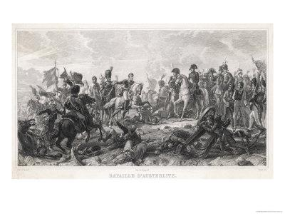 Austerlitz Allied Army of Russians and Austrians are Defeated by the French Under Napoleon