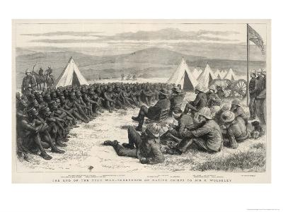 The End of the Zulu War, The Surrender of Native Chiefs to Sir G. Wolseley