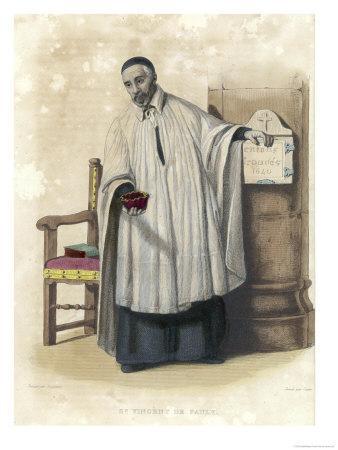 Saint Vincent de Paul French Priest