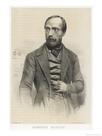 Giuseppe Mazzini Italian Patriot