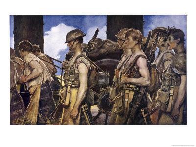 Scottish Soldiers Return from Combat