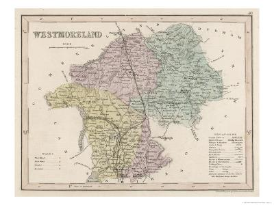 Map of Westmoreland
