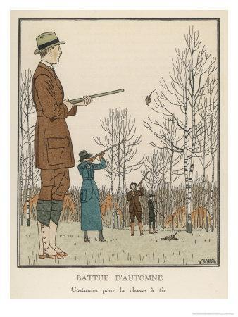 Hunting Dress 1912