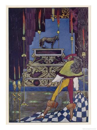 Illustration to the Tale by Hans Andersen