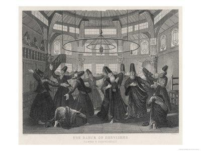 Whirling Islamic Dervishes