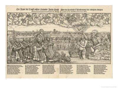 Martin Luther with the Kurfurst Von Sachsen