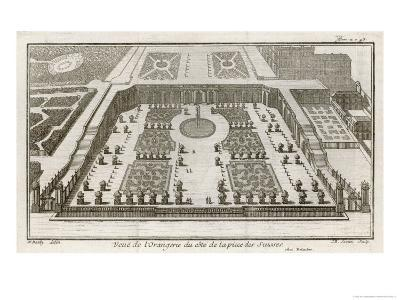 Bird's-Eye View of the Finest Building at Versailles