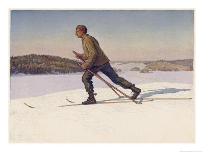 Swedish Ski-Runner at Bjorko