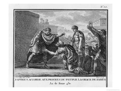 Papirius Cursor Spares Fabius by Popular Request