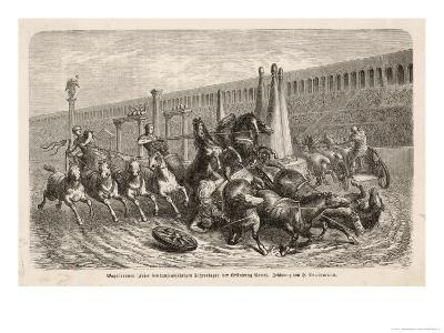 Chariot Racing in the Circus at Rome: a Spill at a Turn