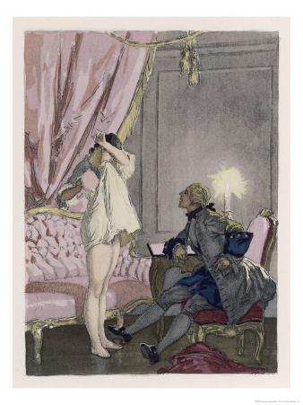 Giovanni Giacomo Casanova Chevalier de Saingalt Italian Adventurer with Tonina at Murano