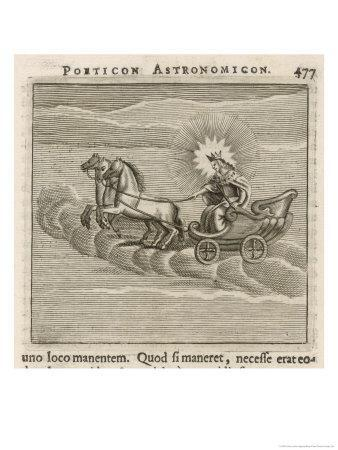 Sun in Chariot, 1681