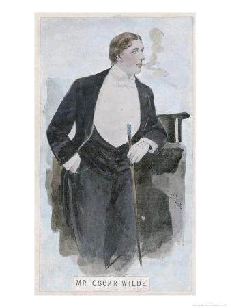 Oscar Wilde at the Height of His Success