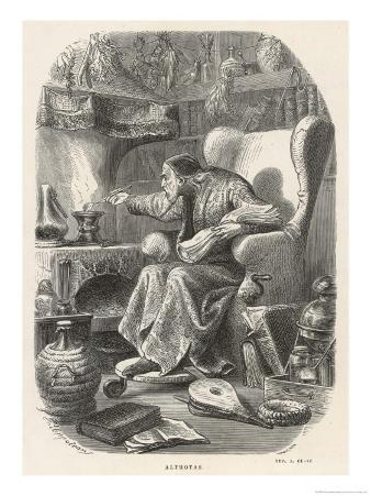 Althotas Alchemist and Occultist Supposed Teacher and Companion of Cagliostro