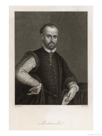 Niccolo Machiavelli Italian Political Philosopher