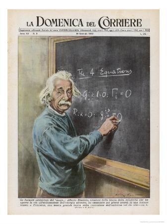 Albert Einstein at Princeton 1950
