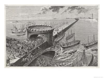 Caesar in Egypt Besieges Alexandria
