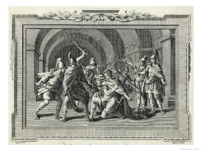 Caligula is Assassinated by the Praetorian Guard
