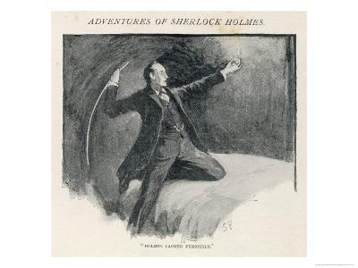 The Adventure of the Speckled Band, Sherlock Holmes Lashes out at the Band